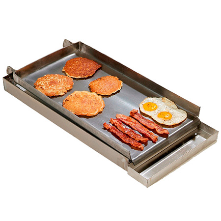 "Rocky Mountain Cookware Two-Burner Lift-Off Griddle 12""W"