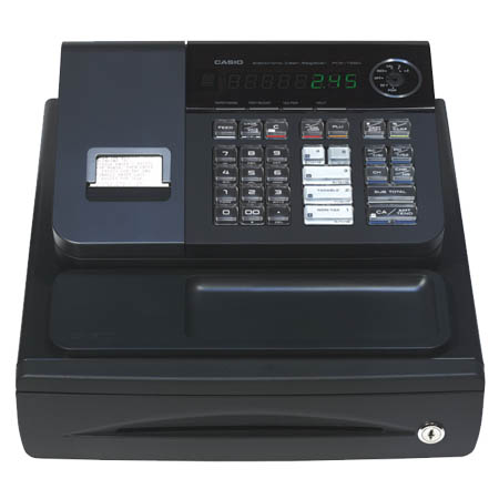 Casio T280 Black Cash Register