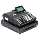 Casio T500  Black 10-Line Cash Register with LCD Display