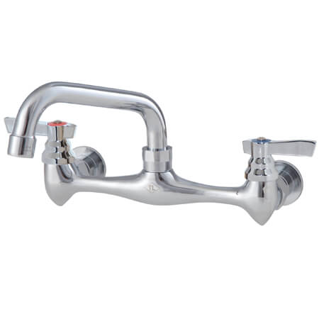 "Top-Line 8"" Wall Mount Faucet with 12"" Spout"