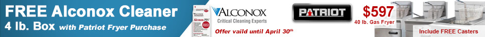 Free Alconox Cleaner with Patirot