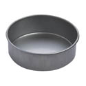 "Focus 2"" Deep 6"" Round Aluminized Steel Cake Pan"