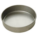 "Focus 2"" Deep 8"" Round Aluminized Steel Cake Pan"