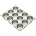 Focus 12-Cup Aluminized Steel Muffin or Pecan Roll Pan