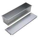Focus Aluminized Steel Pullman Loaf Pan 16\x22 x 4\x22