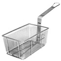 "Left Hook Fry Basket 10-3/4""D x 6-3/4""W x 5""H"