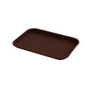 Impact Plastic Chocolate Fast Food Tray 12\x22 x 16\x22