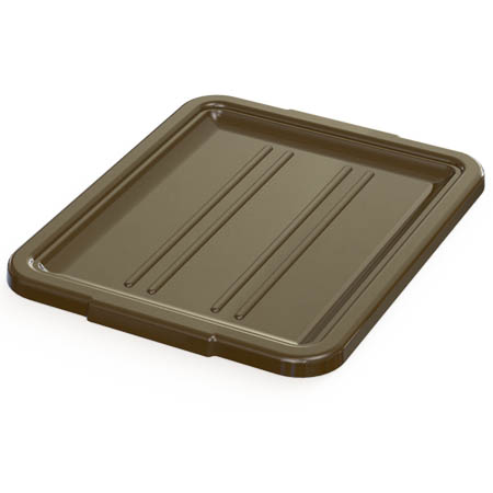 "Brown Cover for 21-1/4""L x 17-1/4""W Bus Box"