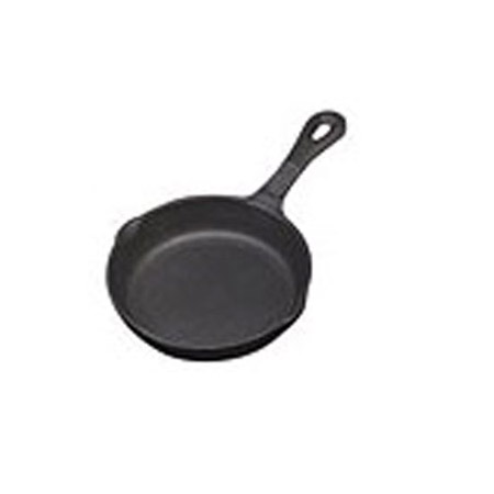 "Tomlinson 6"" Naturalcast Cast Iron Fry Pan"