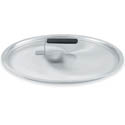 "8-5/16"" Aluminum Dome Cover with Rubber Handle for Vollrath Wear-Ever Cookware"