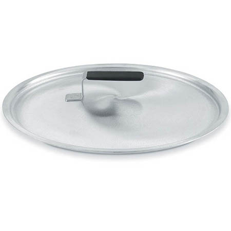 "9-3/16"" Aluminum Dome Cover with Rubber Handle for Vollrath Wear-Ever Cookware"