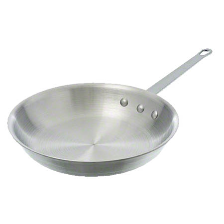 "Alegacy 10"" Optima III Natural Finish Aluminum Fry Pan"