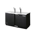 Beverage-Air 3-Keg Direct Draw Black Beer Tap 69\x22W