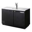 Beverage-Air 2-Keg Direct Draw Black Beer Tap 50\x22W