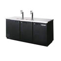 Beverage-Air 4-Keg Direct Draw Black Beer Tap 79\x22W