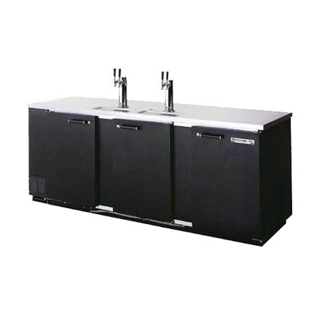 "Beverage-Air 5-Keg Direct Draw Black Beer Tap 95""W"