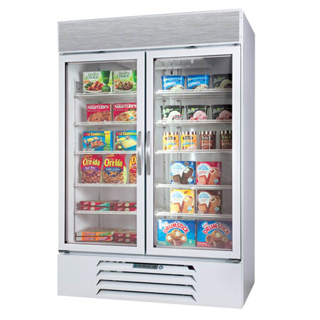 "Beverage-Air 49 cu. ft. 2 Swinging Door Freezer 52""W"