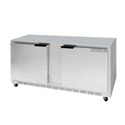 Beverage-Air 14.5 cu. ft. 2-Door Undercounter Refrigerator 60\x22W