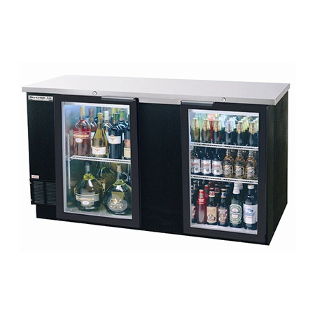 "Beverage-Air 3-Keg Stainless Steel Top Back Bar Cooler 69""W"