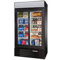 "Beverage-Air 38 cu. ft. 2 Sliding Door Refrigerator Merchandiser 43-1/2""W"
