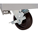 6\x22 Stem Casters for Beverage-Air Refrigerators