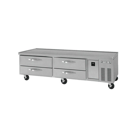 "Beverage-Air 4-Drawer Refrigerated Equipment Stand 84""W"