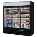 "Beverage-Air 70 cu. ft. 3 Sliding Door Refrigerator Merchandiser 75""W"