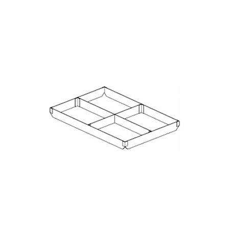 "4-Section Extender for Full-Size Sheet Pan 18"" x 26"" x 2""H"
