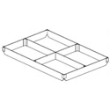 4-Section Extender for Full-Size Sheet Pan 18\x22 x 26\x22 x 2\x22H