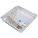 "Wilton Performance Pans Aluminum Square Pan 10"" x 10"" x 2"""