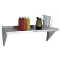 Aluminum Wall Shelf 36\x22L x 12\x22W