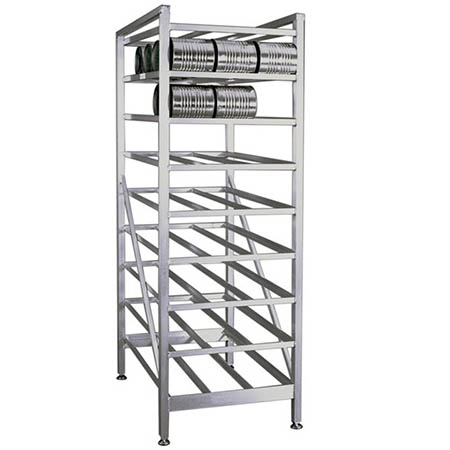 "Self-Feeding Full-Size Can Rack 25""W x 35""D"