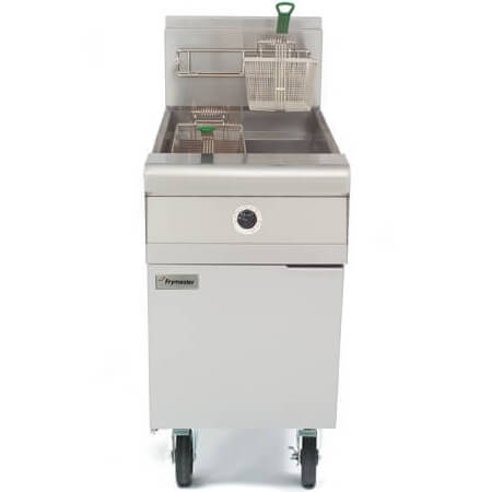 "Frymaster 60-80 lb. Open Pot Fryer with Casters 20-3/4""W"