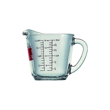 Anchor Hocking 2-Cup Glass Measuring Cup