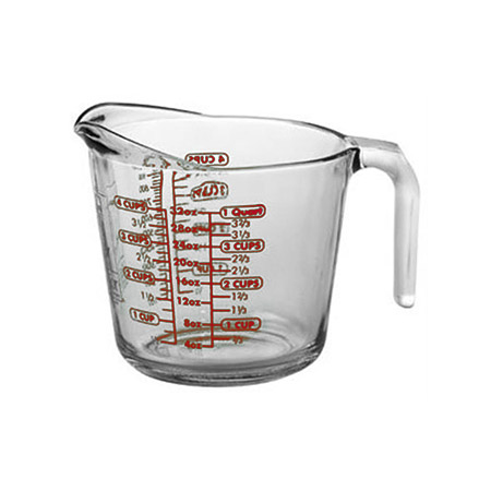 Anchor Hocking 4-Cup Glass Measuring Cup
