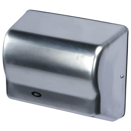 American Dryer Automatic Electric Hand Dryer with Chrome Steel Cover