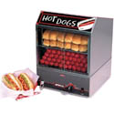 "Nemco 150 Hot Dog and 30 Bun Steamer 13-1/2""W"