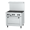 Garland Sunfire 6-Burner Range