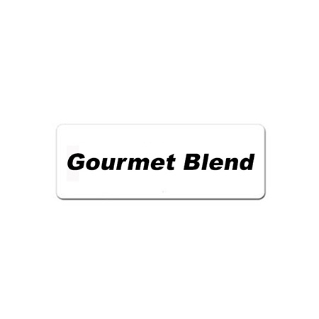 Gourmet Blend Magnetic Identification Tag for Coffee Servers