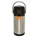 Service Ideas 2.5 Liter  Stainless Steel Airpot with Lever