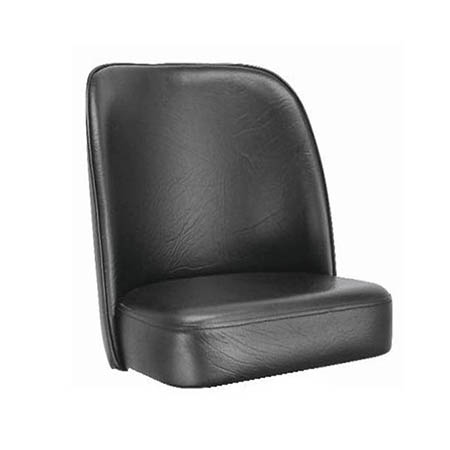 Black Bar Stool Seat for Bucket Style Bar Stool
