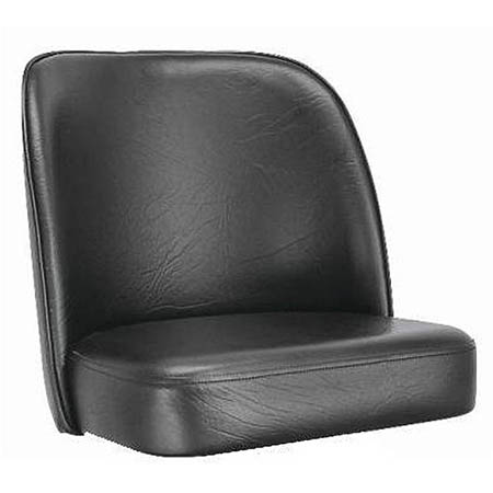 Black Bar Stool Seat for Club Style Bar Stool