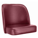 Crimson Bar Stool Seat for Club Style Bar Stool