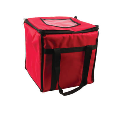 "San Jamar Red Food Carrier 12""L x 12""W x 12""H"