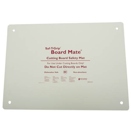 "San Jamar Saf-T-Grip Board-Mate Cutting Board Safety Mat 16"" x 22"""
