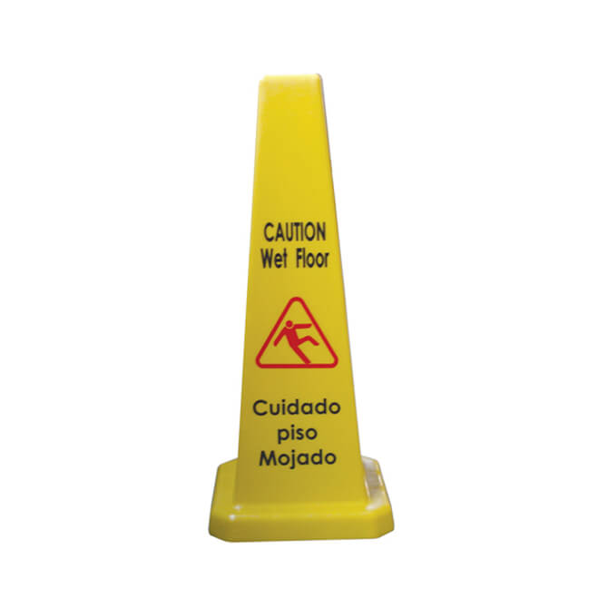 Thunder Group Wet Floor Caution Cone