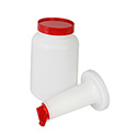 1-Quart Pour Bottle with Red Spout and Lid