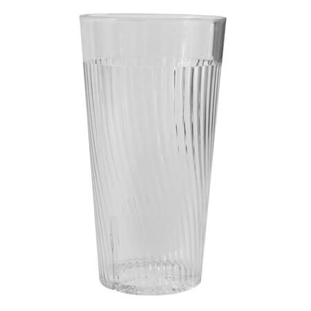 Thunder Group Belize 14 oz. Clear Poly Tumbler Glass