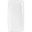 "Thunder Group 13"" x 6-1/2"" Classic White Melamine Tray"