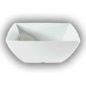 Thunder Group 22 oz. Classic White Melamine Pasta Bowl